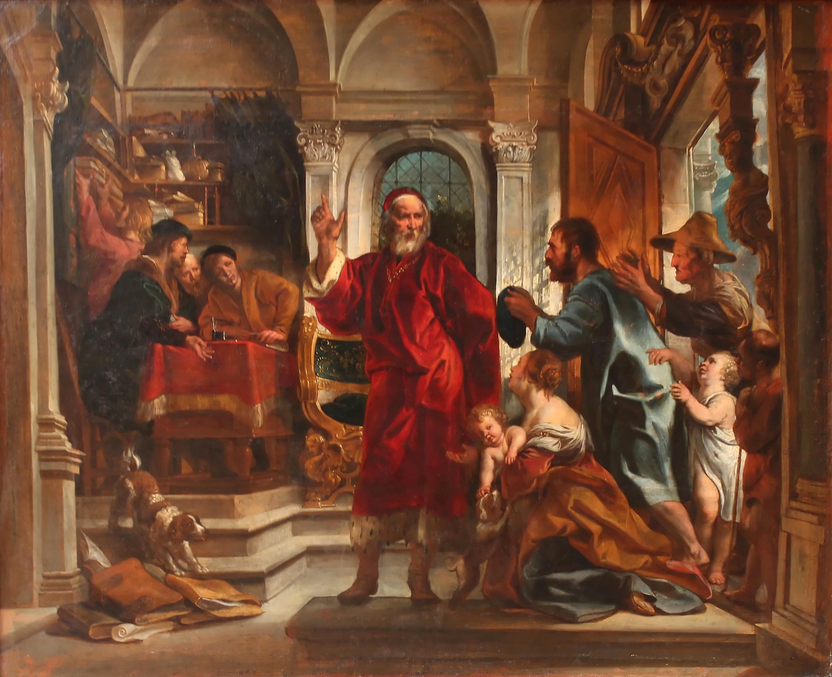 Saint Yves, patron des avocats par Jacques Jordaens